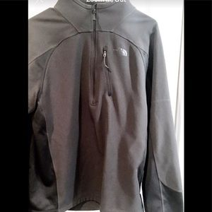 The North Face Men's Jacket 1/4 zip pullover rain
